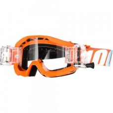 100% Strata Goggles/Roll Offs Orange
